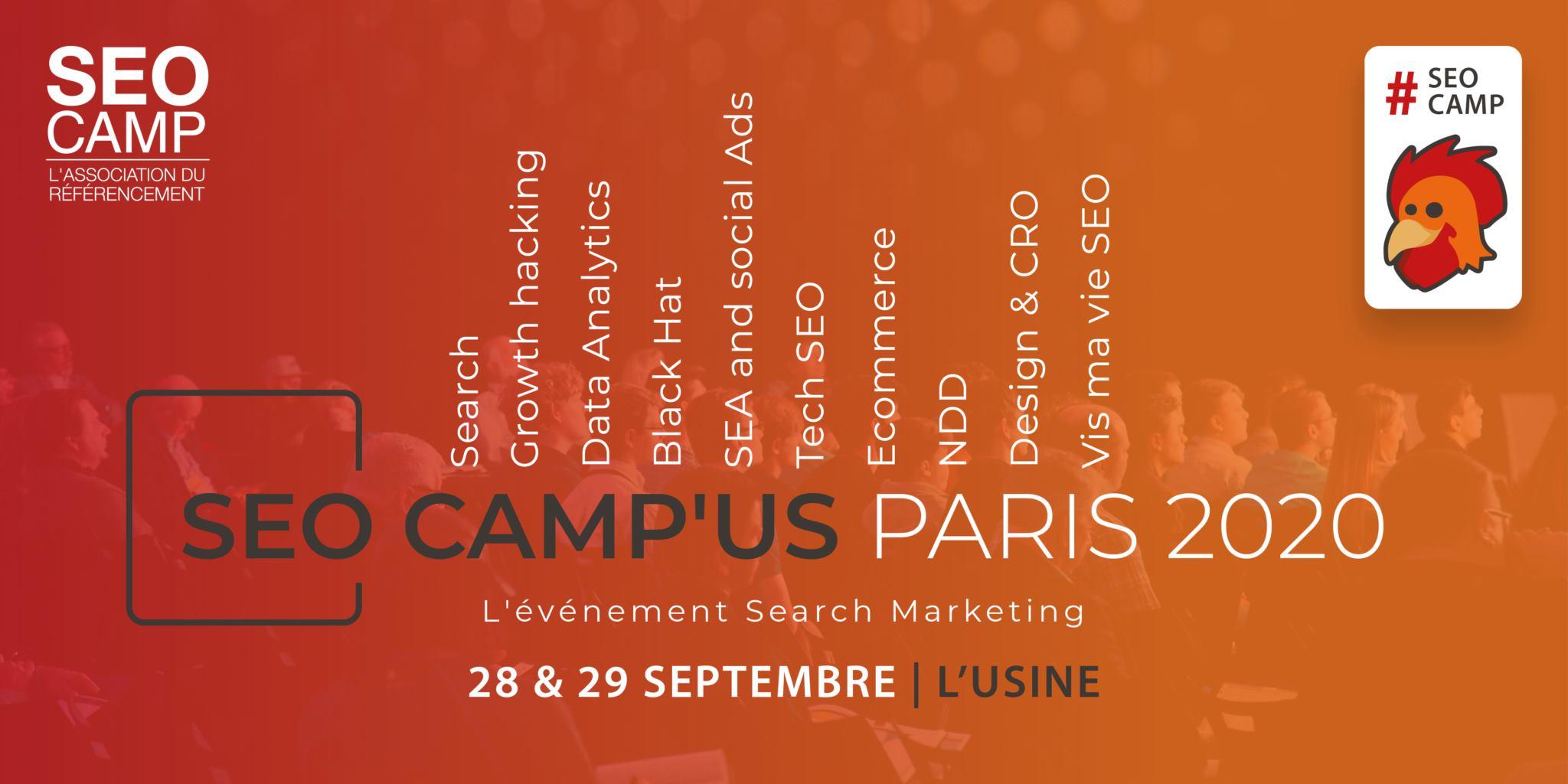 SEO Camp'us Paris 2020 : Les nouveautés en référencement naturel